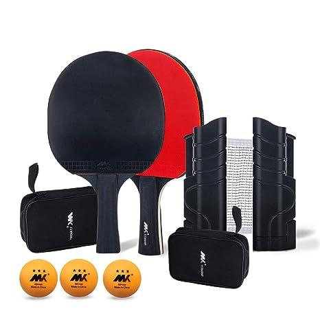 LangRay Redes de Tenis de Mesa Ping Pong Net, portátil, retráctil ...
