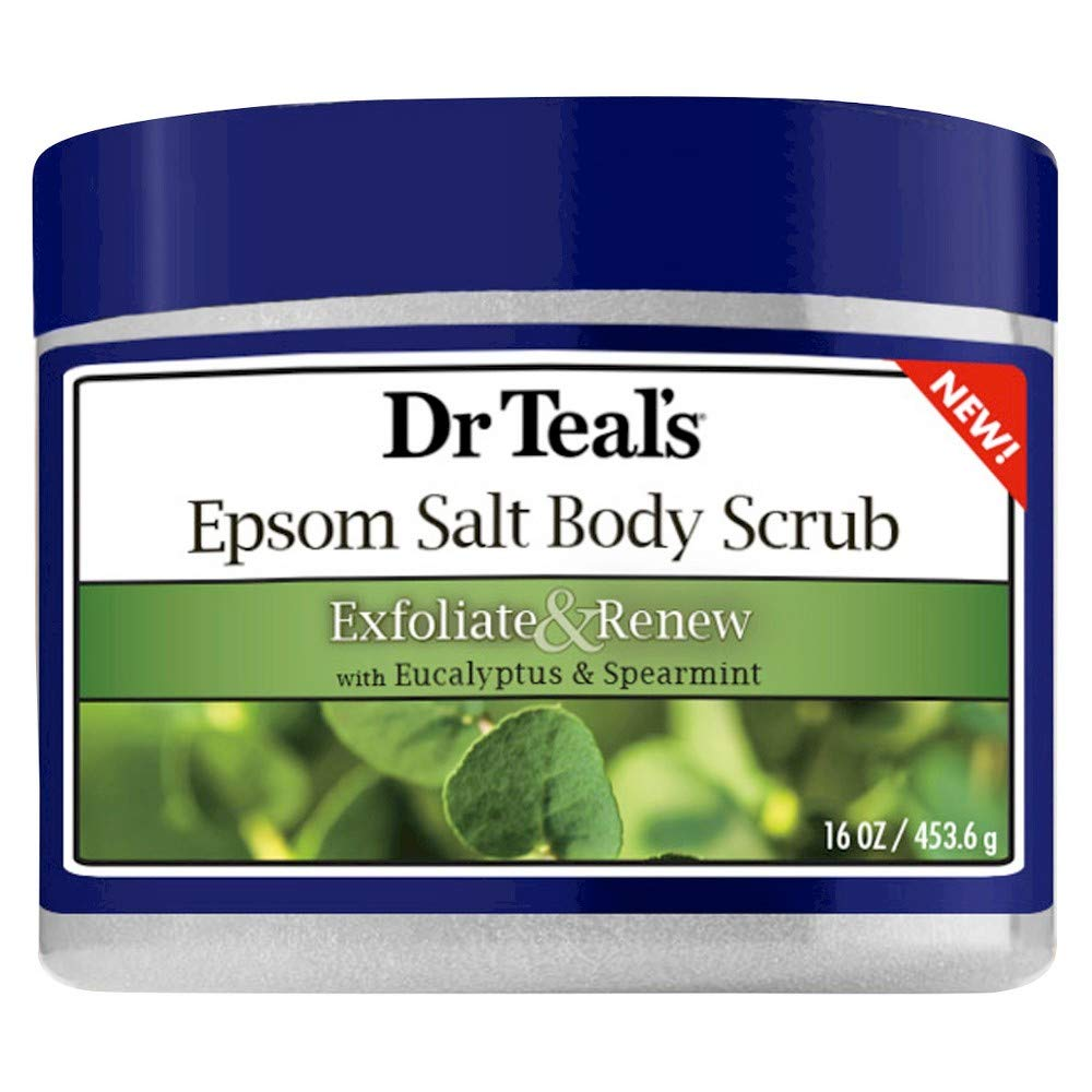 Buy Dr Teal's Exfoliate & Renew Eucalyptus & Spearmint Epsom Salt Body Scrub  16 oz (Pack of 2) Online at Low Prices in India - Amazon.in