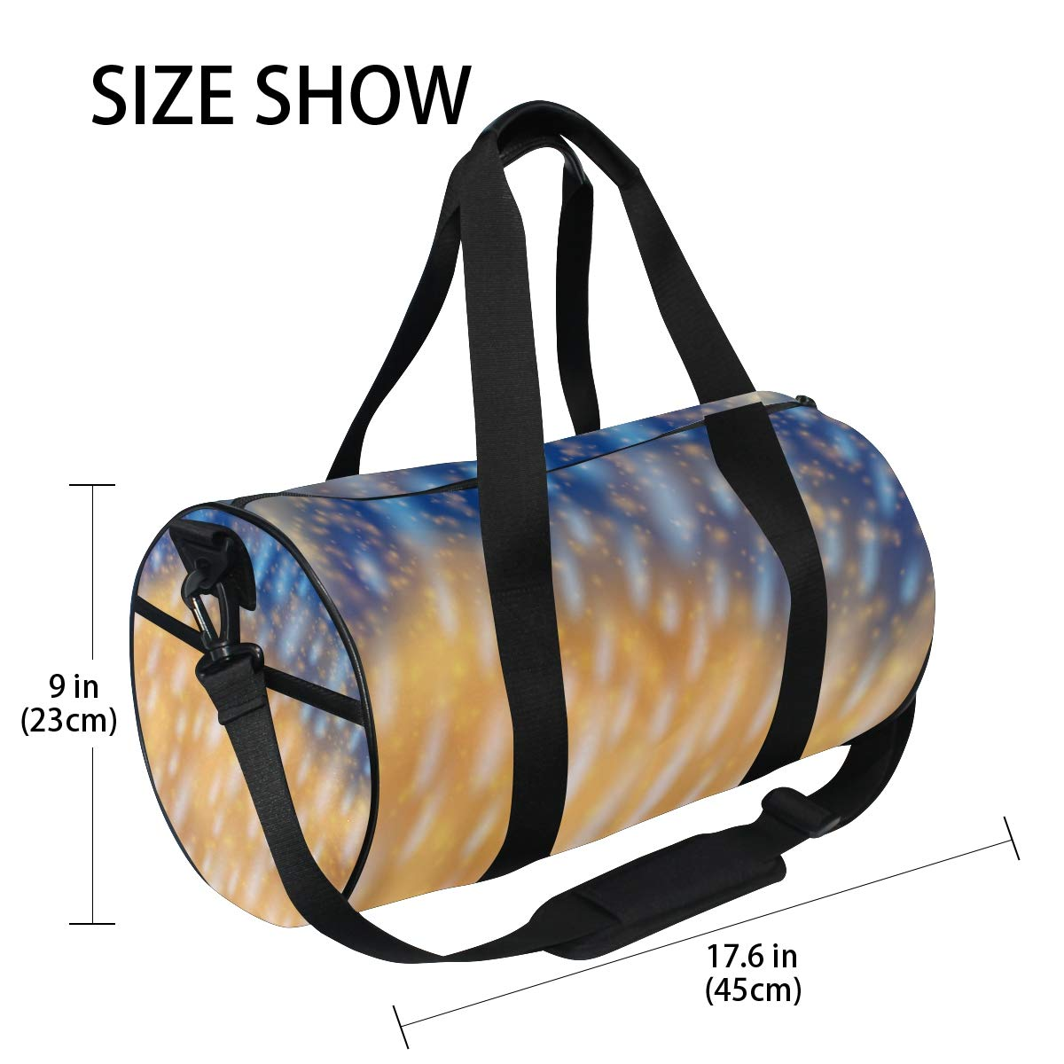 Desert Ocean RainWaterproof Non-Slip Wearable Crossbody Bag fitness bag Shoulder Bag