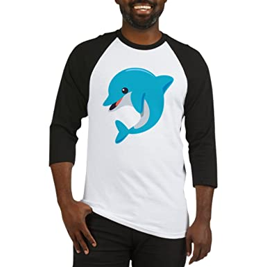 77bfab2c7a5 Amazon.com: CafePress Dolphin Baseball Jersey Baseball Shirt: Clothing