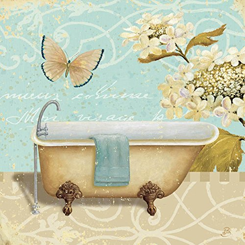 2 Daphne Light (Light Breeze Bath II by Daphne Brissonnet Art Print, 22 x 22 inches)