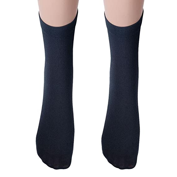 BaZhaHei-Calcetines Calcetines algodón de los Hombres cálido Invierno de Calcetines de Tubo para Hombres