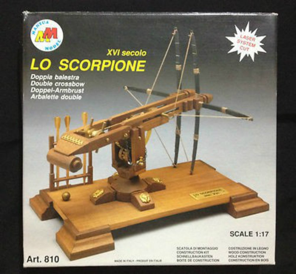 Amazon.com: SCORPION doble Ballesta – Modelo Cannon Kit de ...