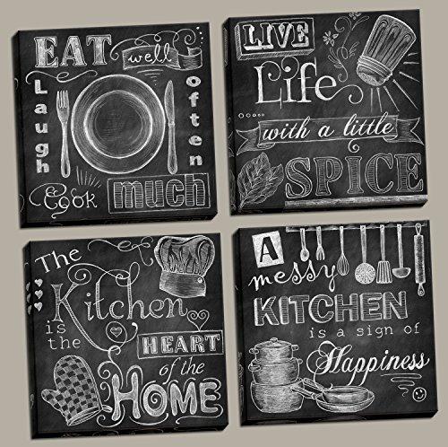 Messy Office Kitchen: Beautiful-Fun-Chalkboard-Kitchen-Signs-Messy-Kitchen-Heart