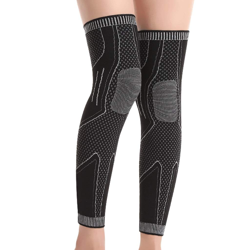 Kneepad Knee Support Professional Sports Knee Pads Badminton Training Equipment Leggings for Knee Protection (Color : One Size)
