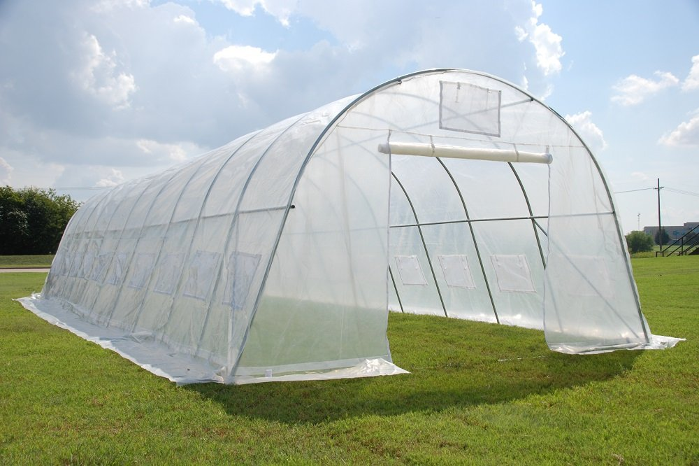 Greenhouse 33'x13'x7.5' - Clear Heavy Duty Walk-in Hothouse By DELTA Canopies