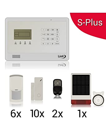 Lkm security WG-YL007M2EB+9S+5PIR+SIRSOL - Kit inalámbrico ...