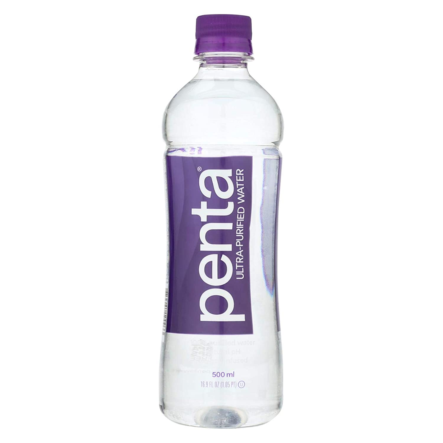 5099dd50ff Amazon.com: Penta Purified Water Purified Drinking Water - 16.9 oz: Sports  & Outdoors