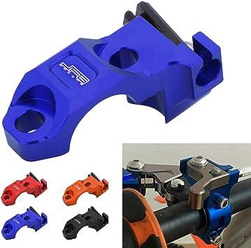 JFG RACING Billet Pivot Foldable Clutch Brake Lever For Yamaha YZ125 YZ250 YZ250F YZ426F YZ450F 07-14 Blue