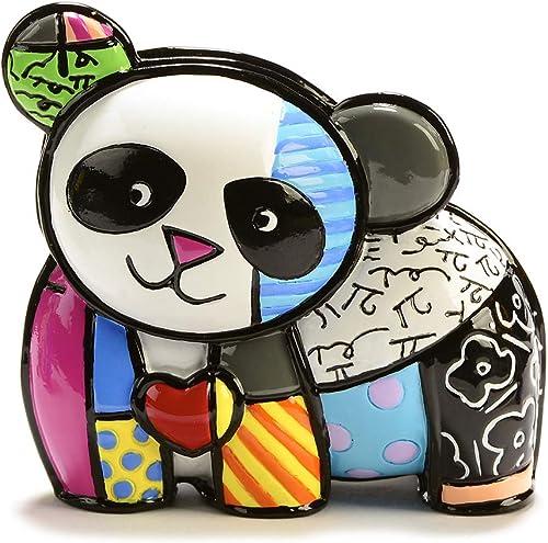 Romero Britto Mini Panda Figurine
