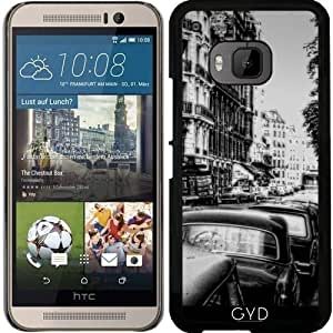 Funda para Htc One M9 - Calle Paris Vendimia by Blooming Vine Design