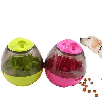 Juguete para perro dispensador de golosinas (grande) - Bola para golosinas para perros /