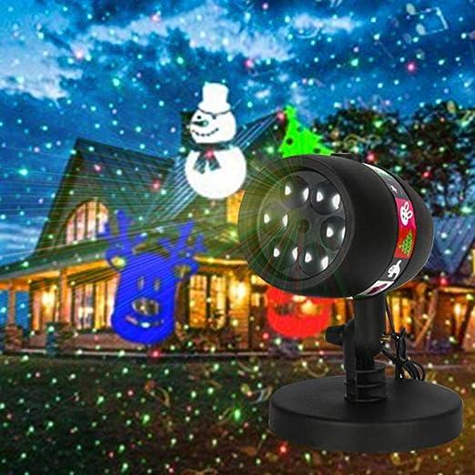 Y-YT Proyector Navidad LED Chip de LED Fife Impermeable al Aire ...