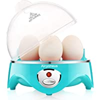 Alcyoneus Electric Egg Cooker/Boiler with Auto Shut Off, Noise-Free