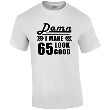Amazon Bday Tees Inc 65th Birthday For Men Gift 65 Year Old Man Present T Shirt Clothing