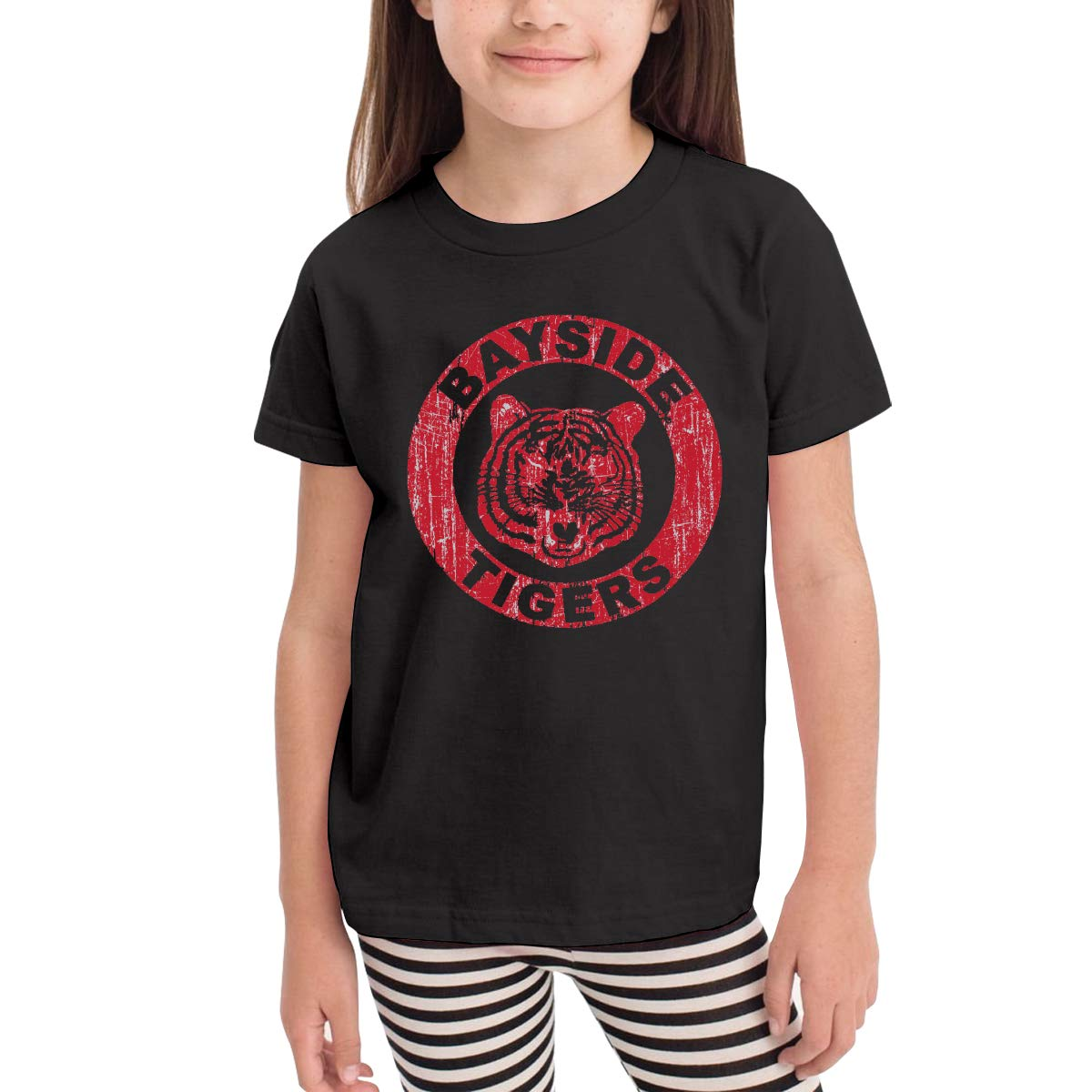 Bayside Tigers 100/% Cotton Toddler Baby Boys Girls Kids Short Sleeve T Shirt Top Tee Clothes 2-6 T