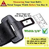 "Seat Belt Extenders 9.8"" Rigid Car Seat Belt"