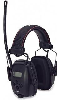 Protector auditivo Howard Leight Radio Edici/ón Sync ACE; Radio AM//FM; inc Entrada AUX Cable; HI-VIS