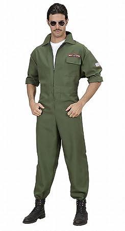 Widmann - Erwachsenenkostüm Kampfjet Pilot