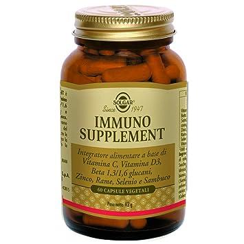Solgar, Beta Glucans Immune Complex Vegetable tapasules, 60: Amazon.es: Salud y cuidado personal