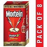 Mortein Insta5 Vaporizer Refill (35 ml, Red, Pack of 8)