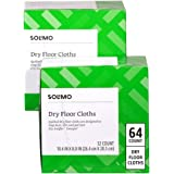 Amazon Brand - Solimo Dry Floor Cloths,32 Count (Pack of 2)