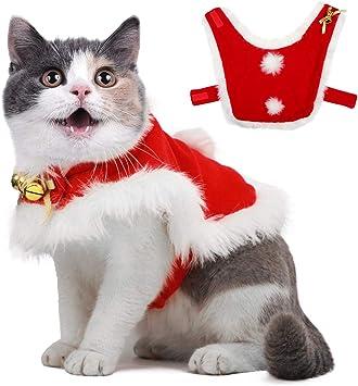 Amazon.com: Disfraz de Navidad para mascotas con campanas de ...