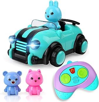 Beebeerun Cartoon R/C Race Remote Control Car