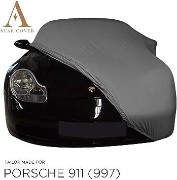 Autoabdeckung Grau Passend FÜr Porsche 911 997 Ganzgarage Innen SchutzhÜlle Abdeckplane Schutzdecke Cover Auto