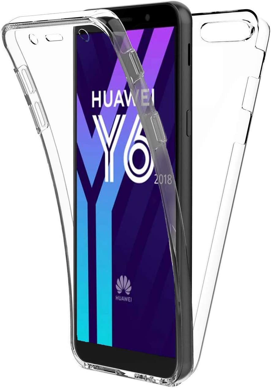 New&Teck® Coque Huawei Y6 2018 – Protection intégrale Avant ...