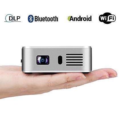 Amazon.com: exquizon E05 Proyector de vídeo bolsillo Airplay ...