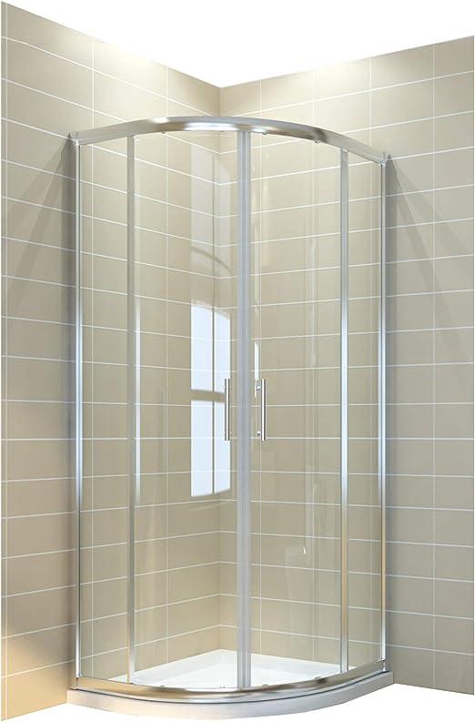 Cabina de ducha redonda ducha 90 x 90 eckeinstieg Mampara de ...