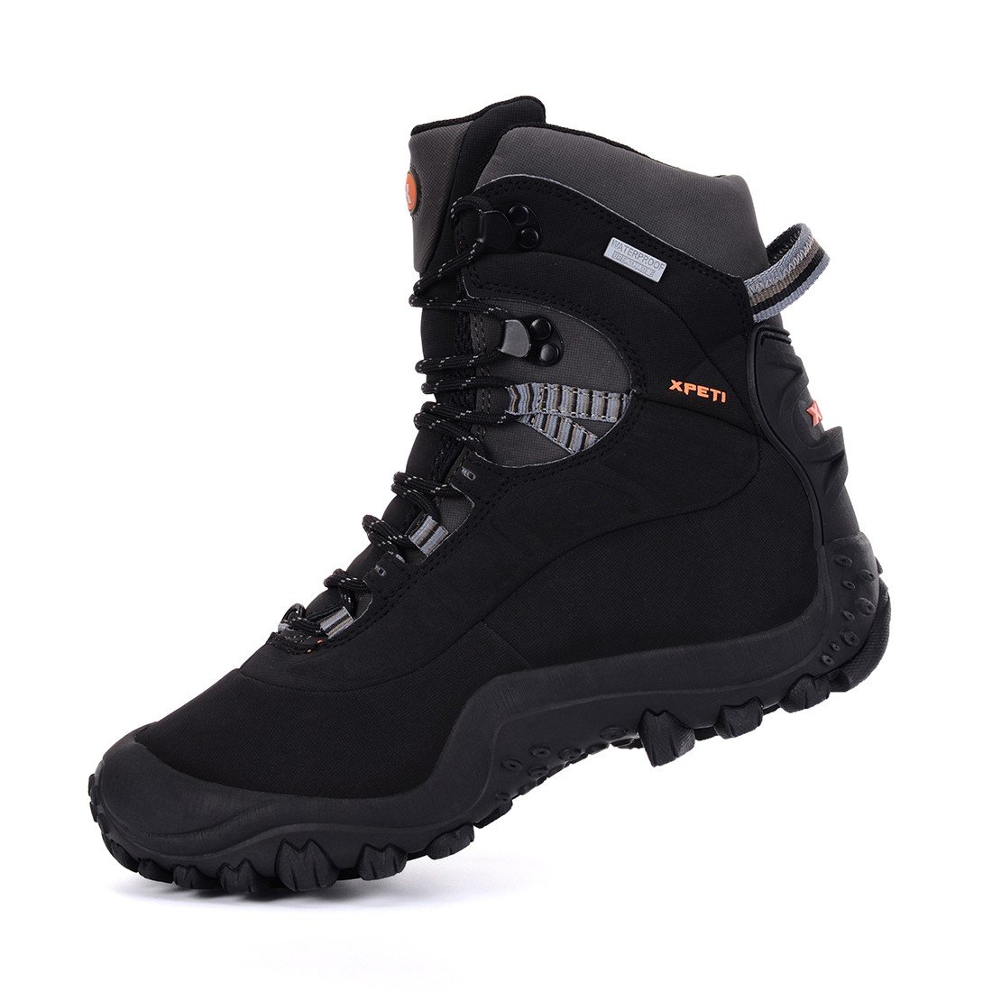 204b3de3df0 XPETI Men's Thermator Mid-Rise Waterproof Hiking Trekking Insulated Outdoor  Boots
