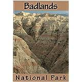 """CafePress - Badlands National Park (Verti Rectangle Magnet - Rectangle Magnet, 2""""x3"""" Refrigerator Magnet"""