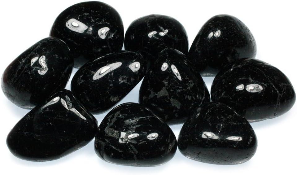 CrystalAge Turmalina Negra Secadora Piedra (20-25mm) - Negro