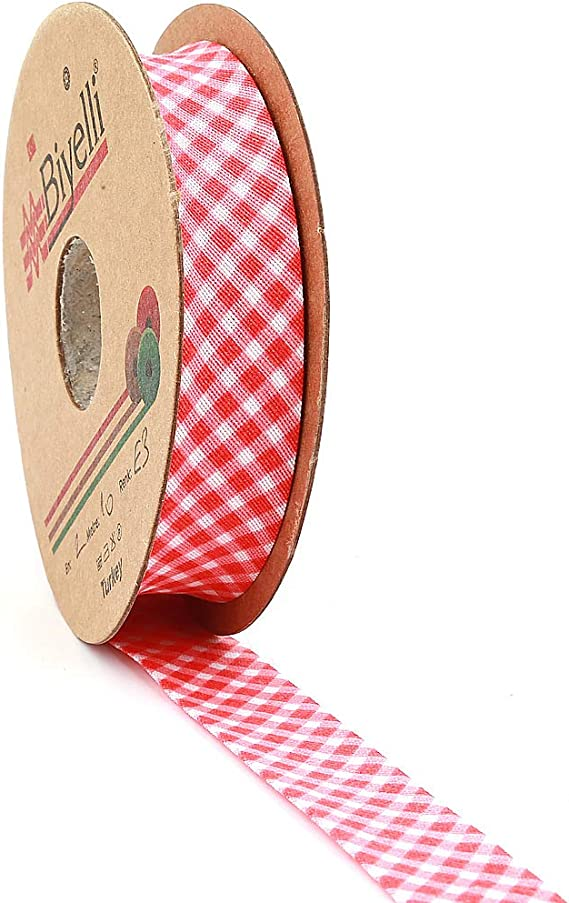 CHOICE OF COLOURS 20mm BIAS  COTTON BINDING TAPE