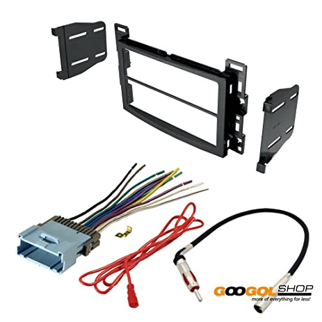 61fuiZz35hL._SY463_ amazon com car stereo dash install mounting kit wire harness car stereo wire harness at gsmx.co