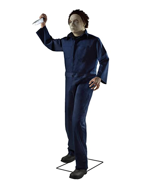 Image Unavailable Image Not Available For Color 6 Ft Michael Myers Animatronics Decorations