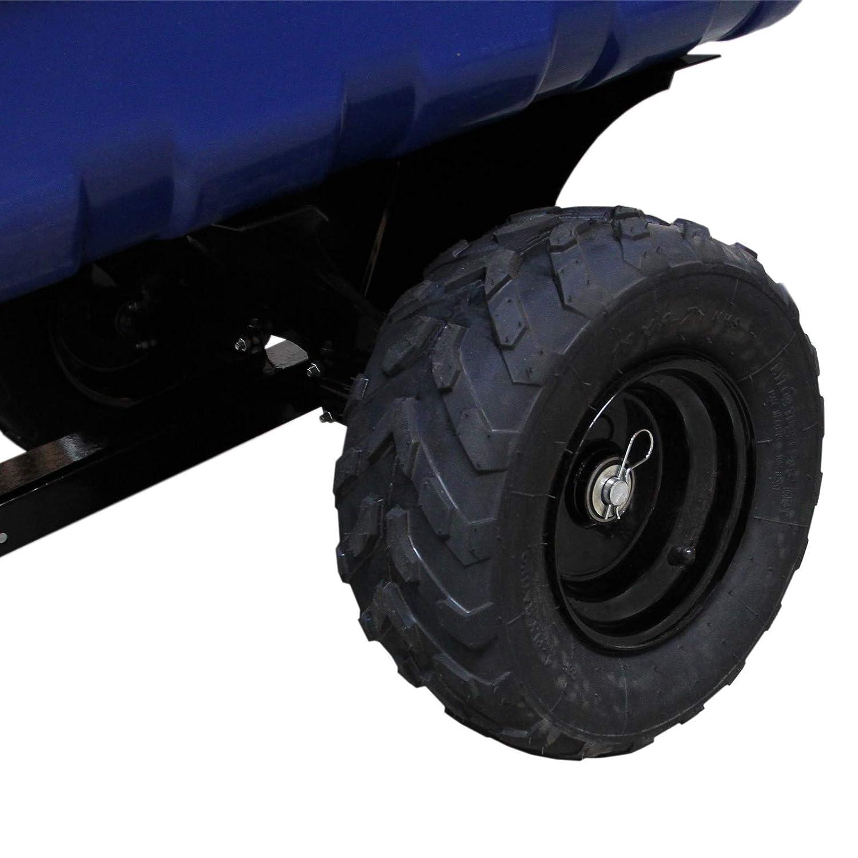 T-Mech Remolque con Neumáticos Todoterreno para Jardinería y ...