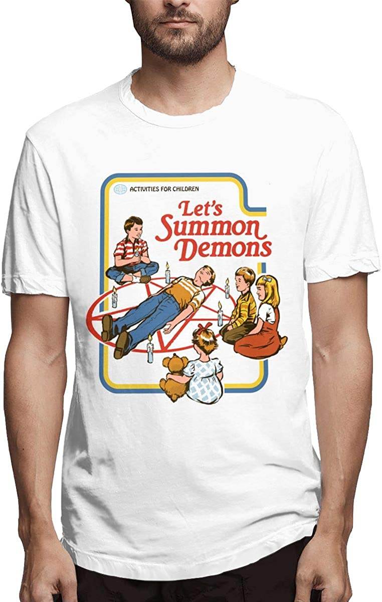Let's Summon Demons Stylish, Casual, Comfortable Fashion Short-sleeved T-shirt 1