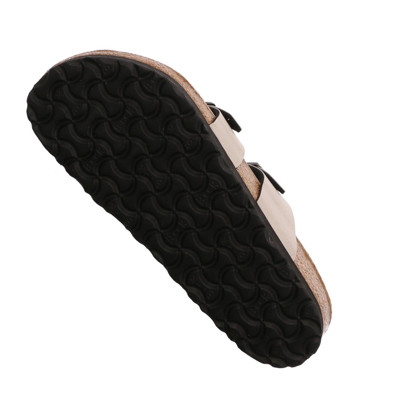 Birkenstock Mayari Vegan, Pull M up Stone, Birko-Flor B076Q9GPQX 9.5 M Pull US White 8046d5