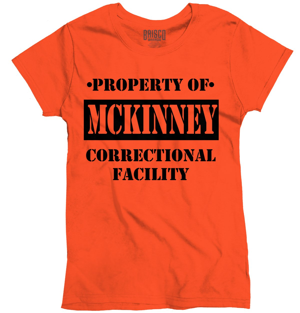 Cool Graphic T Shirt Property Of Mckinney Tx Prison The New Tv 8647