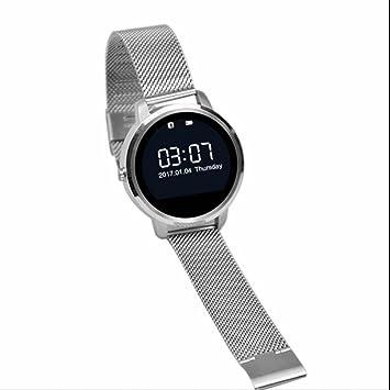 Bluetooth Intelligente Bracelet Podomètre Sport Bracelet Montres connectées,LED Écran Tactile Montre à Smartwatch Bracelet