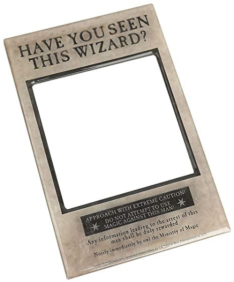 Harry Potter Photo Frame Fridge Magnet (\'Have you seen this wizard ...