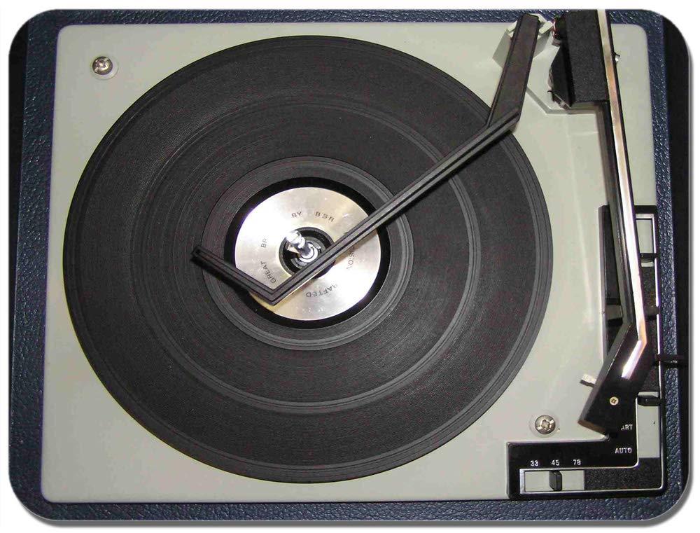 Tocadiscos alfombrilla de ratón. Classic Vintage Tocadiscos DJ ...