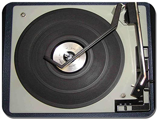 Tocadiscos alfombrilla de ratón. Classic Vintage Tocadiscos ...