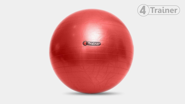 4Trainer - Balón suizo (75 cm Anti-estallido, trabajo de ...