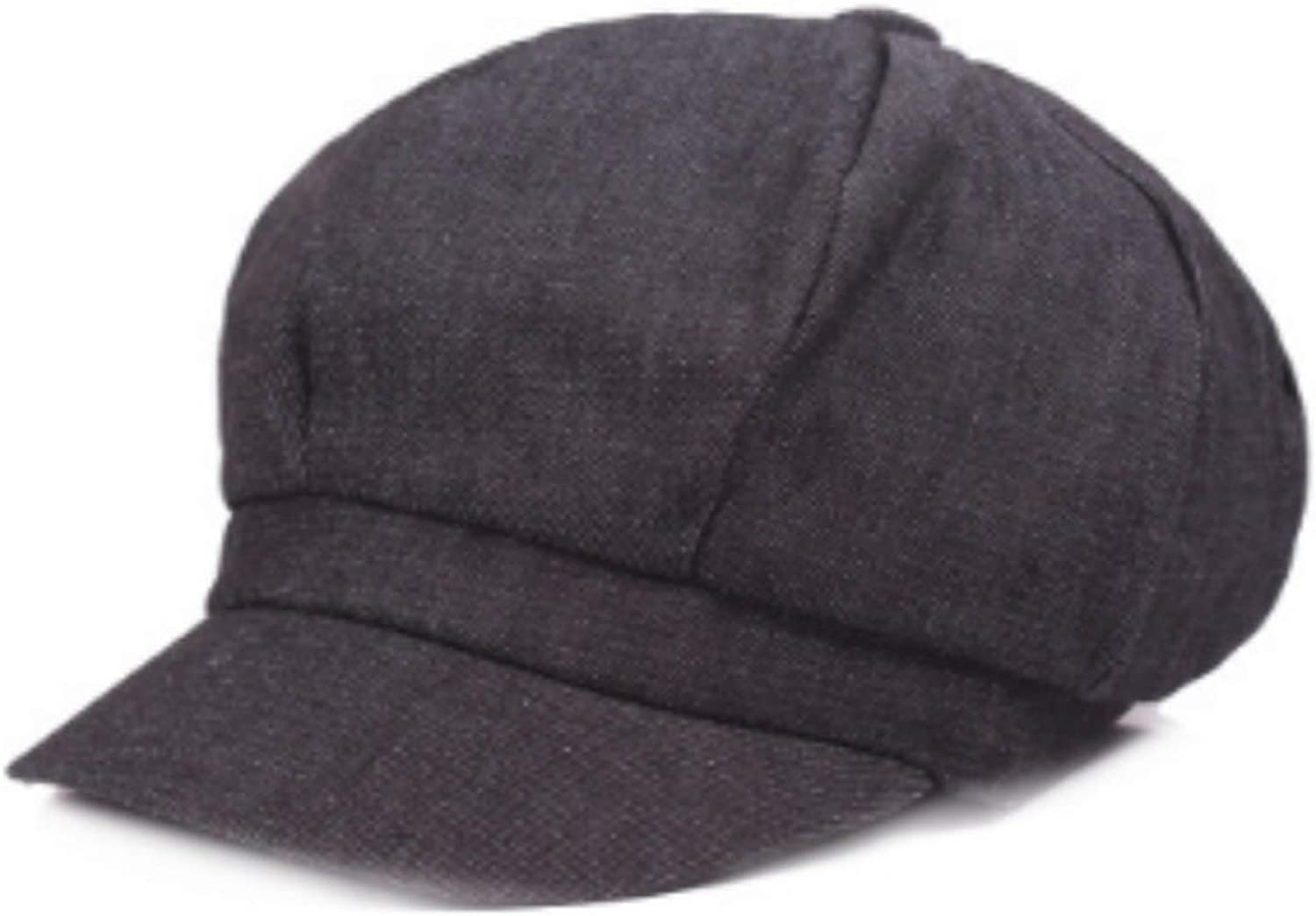 Denim Newsboy Caps Women...