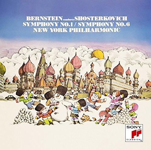 CD : SHOSTAKOVICH / BERNSTEIN, LEONARD - Shostakovich: Symphonies 1 (Limited Edition, Japan - Import)