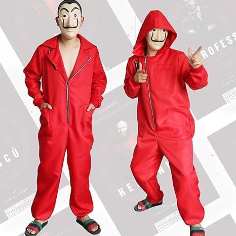 ZHANGXX Salvador Dali Movie Costume Money Heist The House of ...